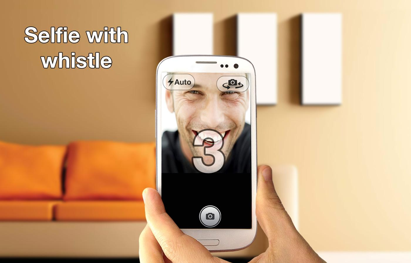 Whistle Camera - Selfie & More